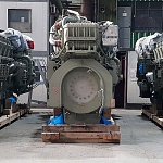 New marine diesel generator sets project is in progress